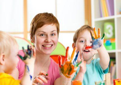 Ausbildung Kinderbetreuerin